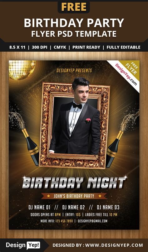 party flyer design kostenlos 55 free party event flyer psd templates designyep