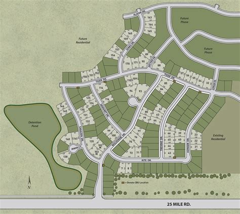 sle site plan new homes in macomb township southeast michigan new homes