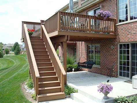 composite deck construction frankfort composite deck halo construction services llc
