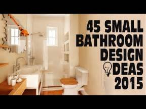 Small Bath Designs 45 small bathroom design ideas 2015 youtube