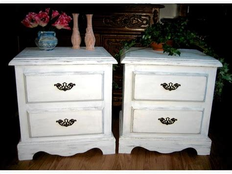white shabby chic coffee side table set bedside bedroom living room central nanaimo nanaimo