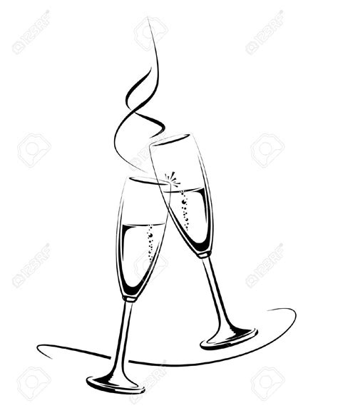 glasses clinking black and white glasses cheers pictures to pin on