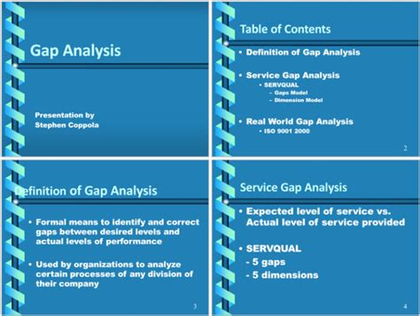 Data Gap Analysis Template 5 Templates For Excel Pdf Ppt Gap Analysis Powerpoint