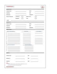 Handover Report Template Sample Handover Note Form