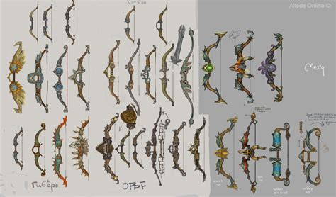 design game art bows by sidxartxa on deviantart