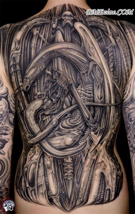 biomechanical bme tattoo piercing and body