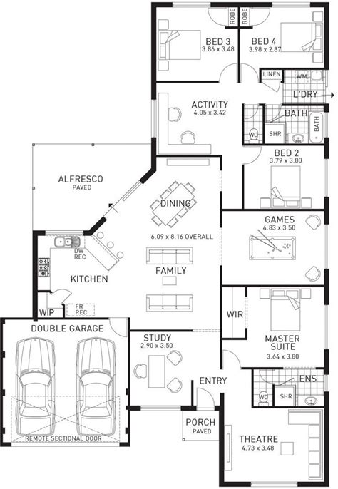 room floor plans change the study to a mudroom bootroom laundry room with access to garage make the theatre into
