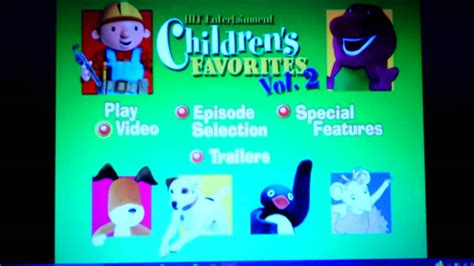 7 Of My Favorite Entertainment Websites by Hit Entertainment Children S Favorites Vol 2 Fail