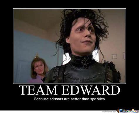 Edward Meme - team edward all the way by pauljohnson meme center