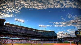 Dodge Stadium Los Angeles Dodgers Wallpapers Wallpaper Cave