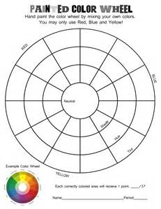 color template color theory worksheets mrs catlin s