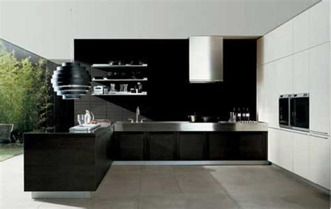 modern black kitchen modern and luxury kitchen ideas decor advisor