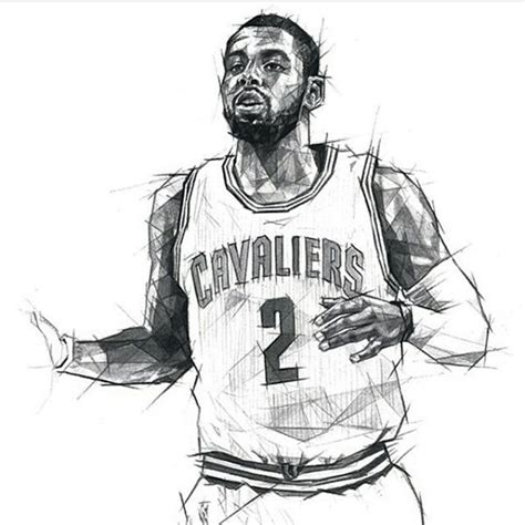 image gallery kyrie irving drawing