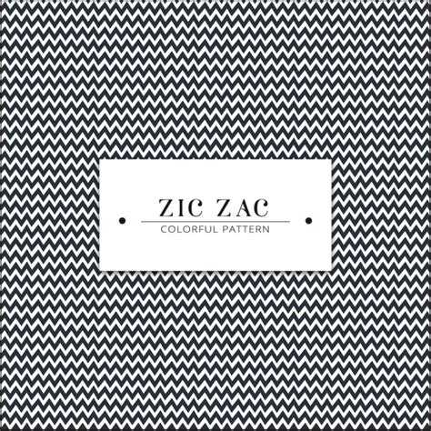 free zig zag mitten pattern zig zag pattern design vector free download