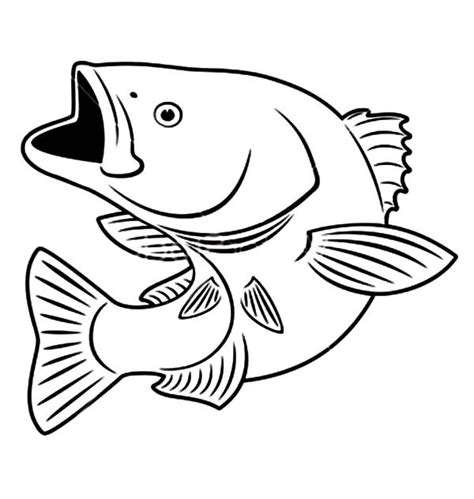bass fish coloring pages free sniper bass fish coloring pages best place to color
