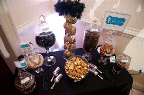 black and gold buffet ls black and gold quot old hollywood quot themed candy buffet party