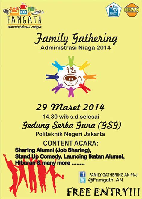 family gathering administrasi niaga 2014 seputarkus