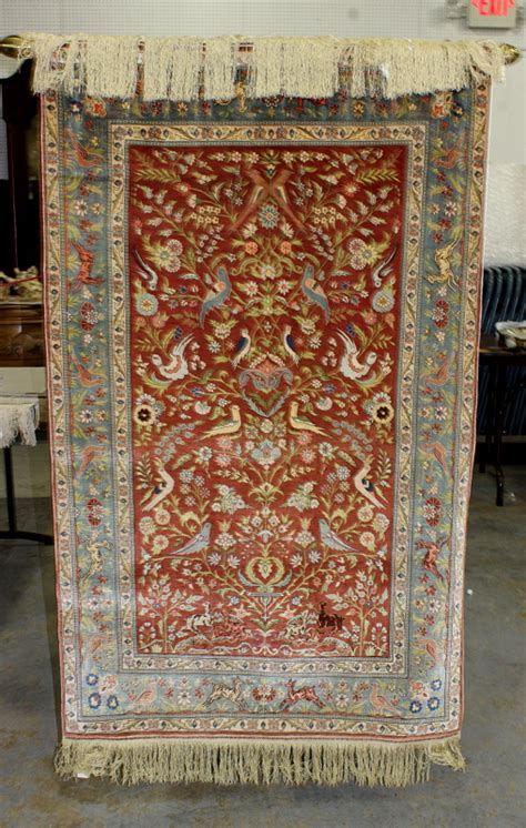 wall rugs uk hereke silk hanging wall rug