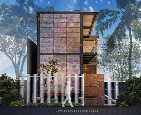 desain rumah industrial ars inspirasi desain rumah kos di lahan memanjang konsep