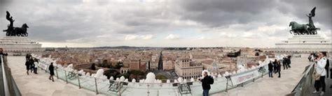 terrazza vittoriano le terrazze con le pi 250 viste a roma cosa fare a roma