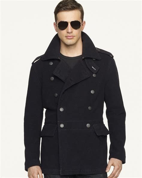 Fashion Inspired Bedroom ralph lauren black label double breasted wool officer s