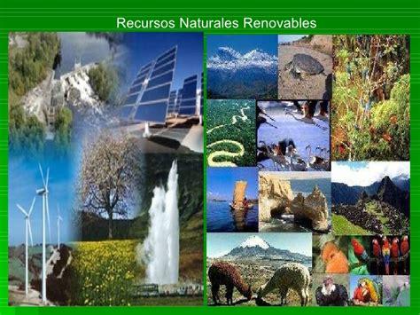 imagenes componentes naturales recursos naturales