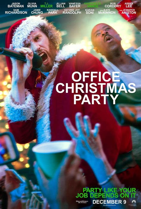 office christmas party 2016 poster 1 trailer addict