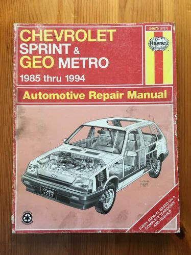 free online auto service manuals 1999 chevrolet metro electronic valve timing service manual book repair manual 1999 chevrolet metro user handbook geo metro fuel fill