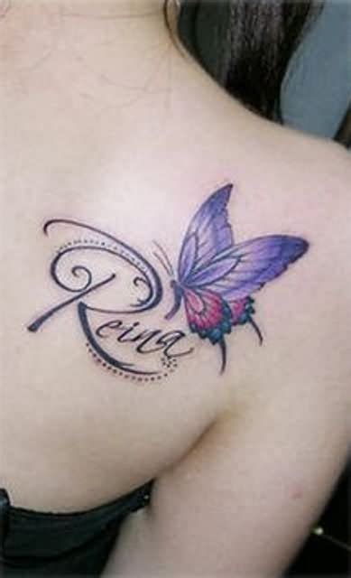 butterfly tattoo with name as body butterfly tattoo images designs