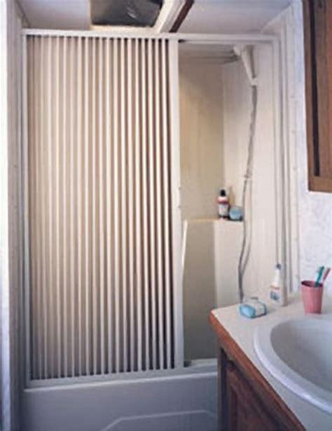rv bathroom doors irvine 3657sw rv pleated shower door 57 quot x 36 quot white