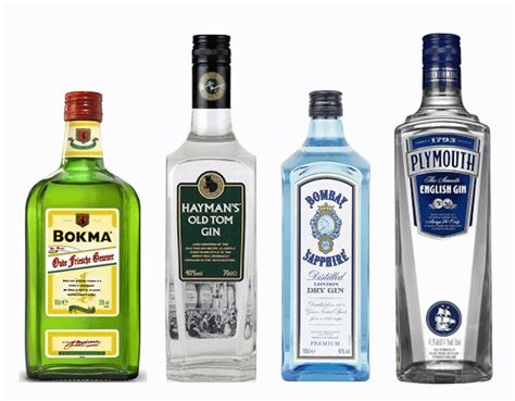elemental mixology gins four types in four brands