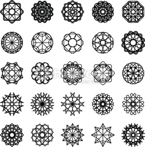 Sol Vynil 3179 by Ornament Set Vector Thinkstock