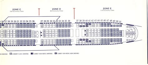 boeing 747 floor plan airlines past present february 2012