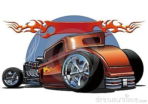 hot rods reddit vector cartoon hotrod stock photos image 16704813