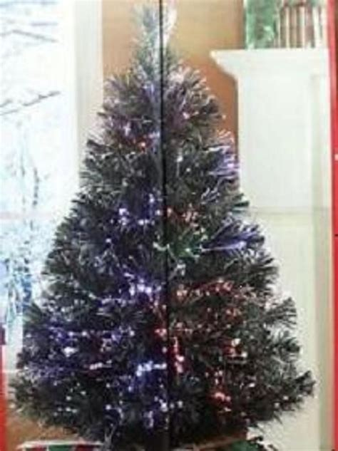 christmas optical fiber trees 32 inches melbourne big w 32 quot fiber optic tree continuously changes color shimmers free shipping fiber optic