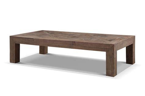 Table De Salon Rustique by Table Basse Rustique En Bois Brut