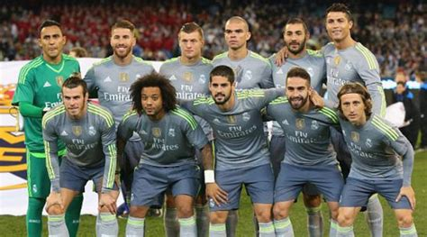 Real Madrid Club real madrid cf 2015 16 real madrid c f squad genius