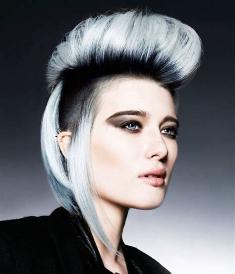 40 cool grey hairstyles ideas 187 ecstasycoffee