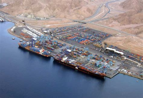 aqaba port port offers incentives for iraq bound cargo