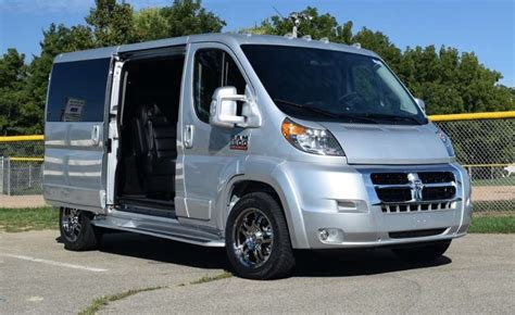 Conversion Van Floor Plans by Ram Promaster Conversion Vans Inventory Video Infonew