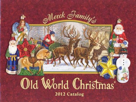 old world christmas 2012 glass ornament catalog 1449 12