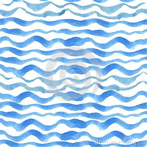 watercolor drawn pattern watercolor strips seamless pattern set blue cyan stock