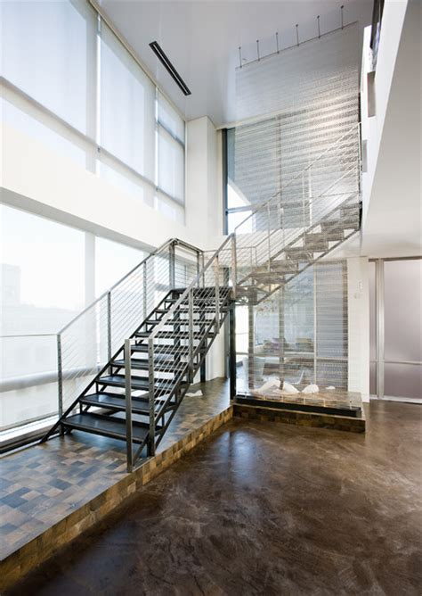 Loft Stairs Design Millennium Tower Loft Stair