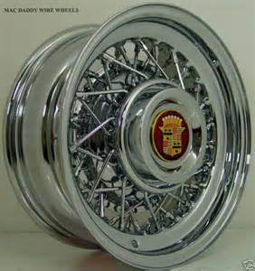 Cadillac Wire Wheels For Sale Add 1 000 For Stainless Spokes