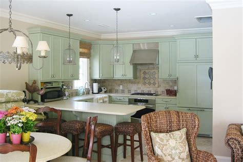 avocado green kitchen cabinets green kitchen cabinets kitchen traditional with bar stools
