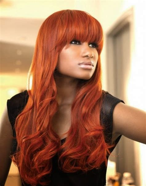 hairstyles and color for dark skin shades of red hair red hair color ideas the life