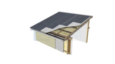 timber skillion roof construction skillion mono pitch roof bbs passive ventilation