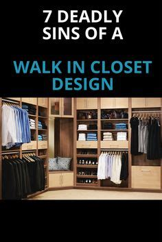 7 Deadly Sins For A Columbus Custom Walk In Closet Design | image result for square 4x4 walk in closet laz s closet