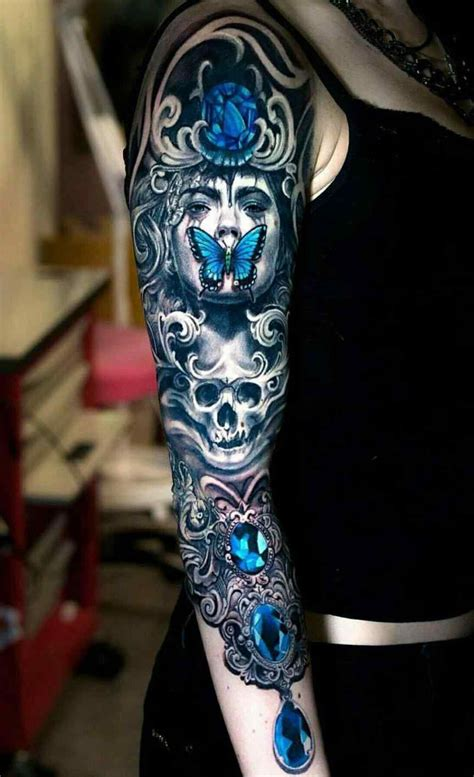 crazy cool tattoo designs and pocket unique skull tattoos designs and
