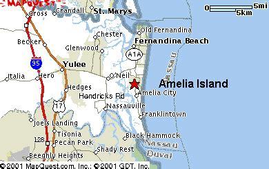 amelia island map of florida amelia island fl maps